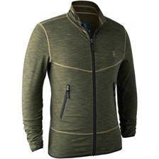 Gilet homme deerhunter norden insulated fleece jacket - green melange