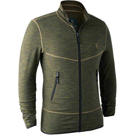 GILET HOMME DEERHUNTER NORDEN INSULATED FLEECE JACKET - GREEN MELANGE