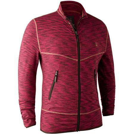 GILET HOMME DEERHUNTER NORDEN INSULATED FLEECE JACKET - RED MELANGE