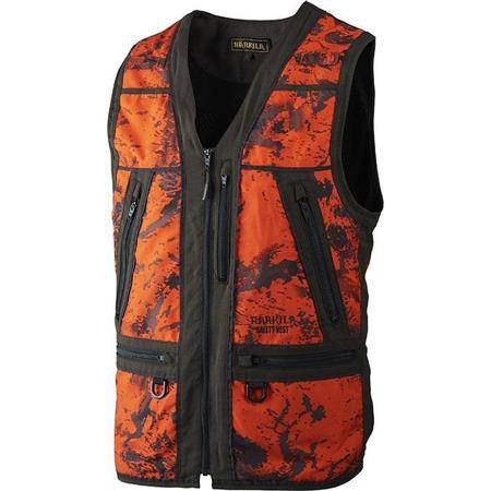 GILET HOMME HARKILA LYNX SAFETY - CAMOU/ORANGE