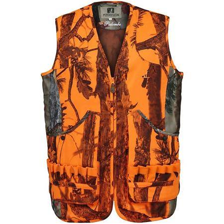 GILET HOMME PERCUSSION PALOMBE - GHOST CAMO BLAZE