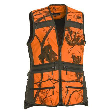 Gilet Sans Manche Femme Pinewood Furudal Hunter Pro Vest W - Orange Camo