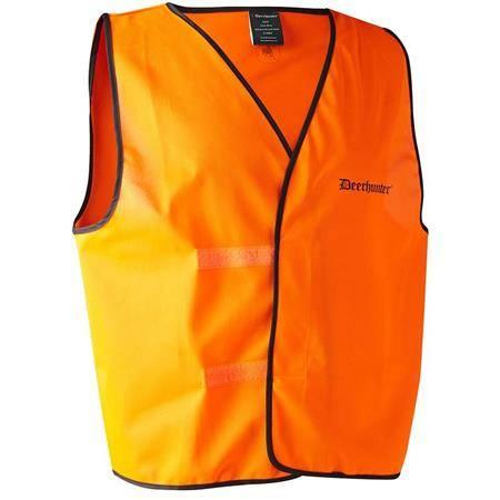 Gilet Sans Manche Homme Deerhunter Pull-Over - Orange