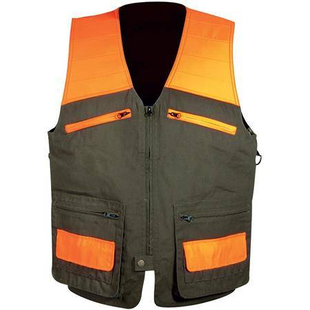 Gilet Sans Manche Homme Hart Sonar-V - Marron/Orange