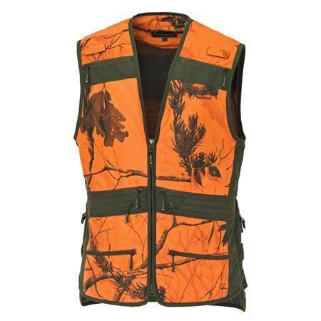 Gilet Sans Manche Homme Pinewood Furudal Hunter Pro Vest - Orange Camo