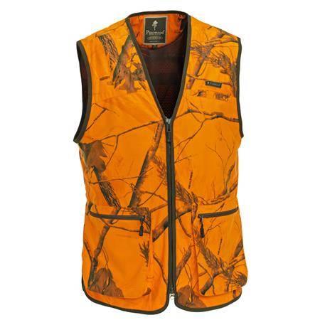 Gilet Sans Manche Homme Pinewood Karl Visibility Vest Ap - Camo Orange