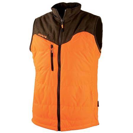 Gilet Sans Manche Homme Somlys 417 Thermo-Hunt Réversible - Marron/Orange