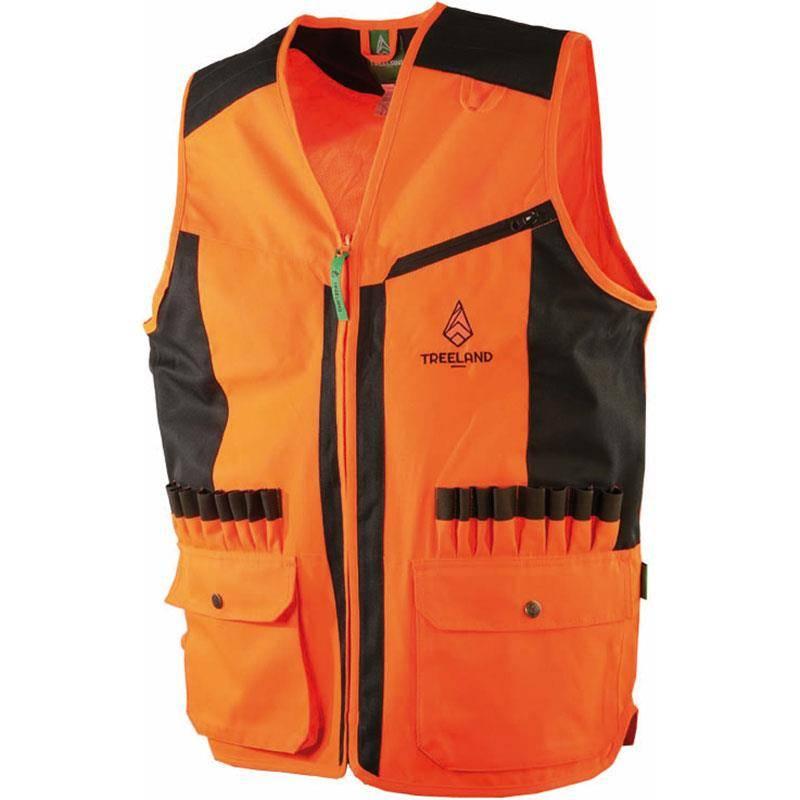 Gilet Sans Manche Homme Treeland T253 - Orange