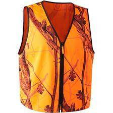 Gilet sans manches homme deerhunter protector waistcoat pull over - gh camouflage