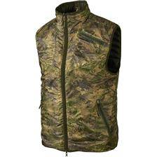 Gilet sans manches homme harkila lynx insulated reversible - camou/kaki