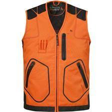 Gilet sans manches homme ligne verney-carron rapace - orange