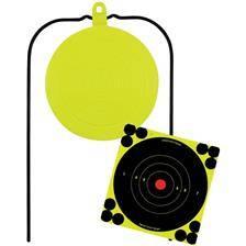 Gong synthetique birchwood-casey pendulaire auto-reparant pour 22 lr a 45 acp
