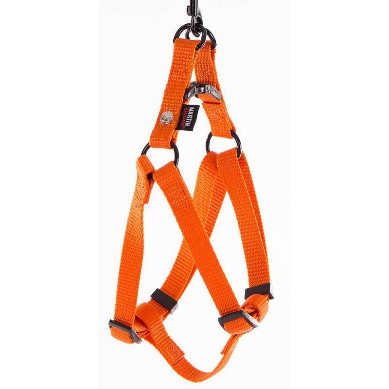 Harnais Baudrier Martin Sellier - Orange