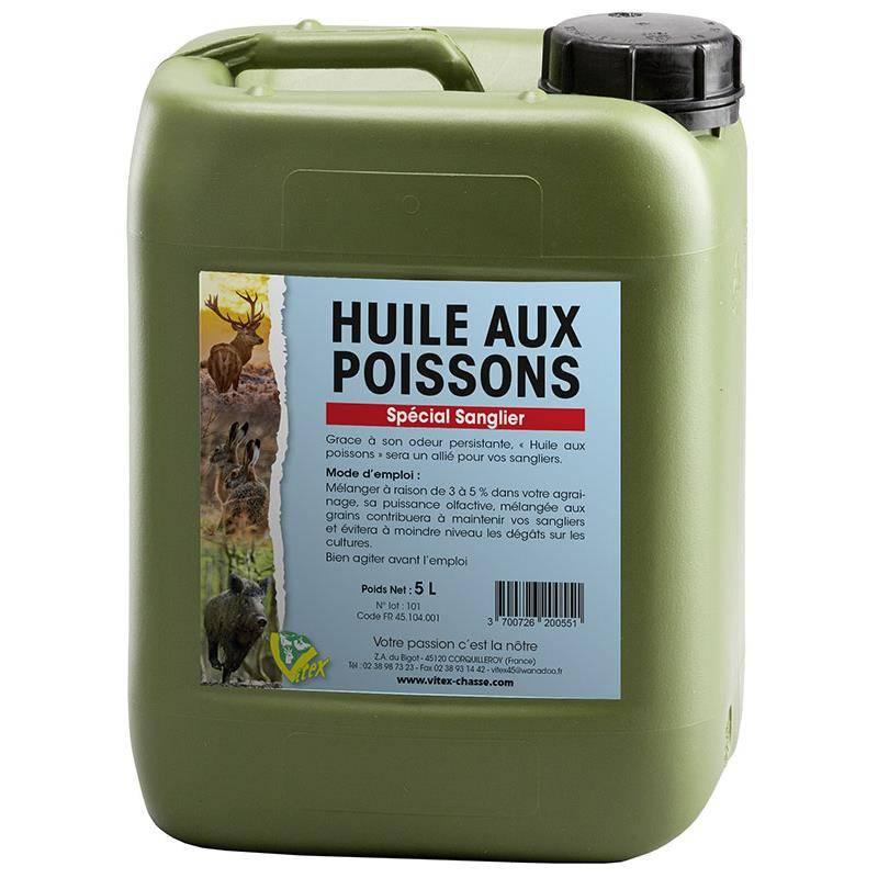 HUILE AUX POISSONS VITEX