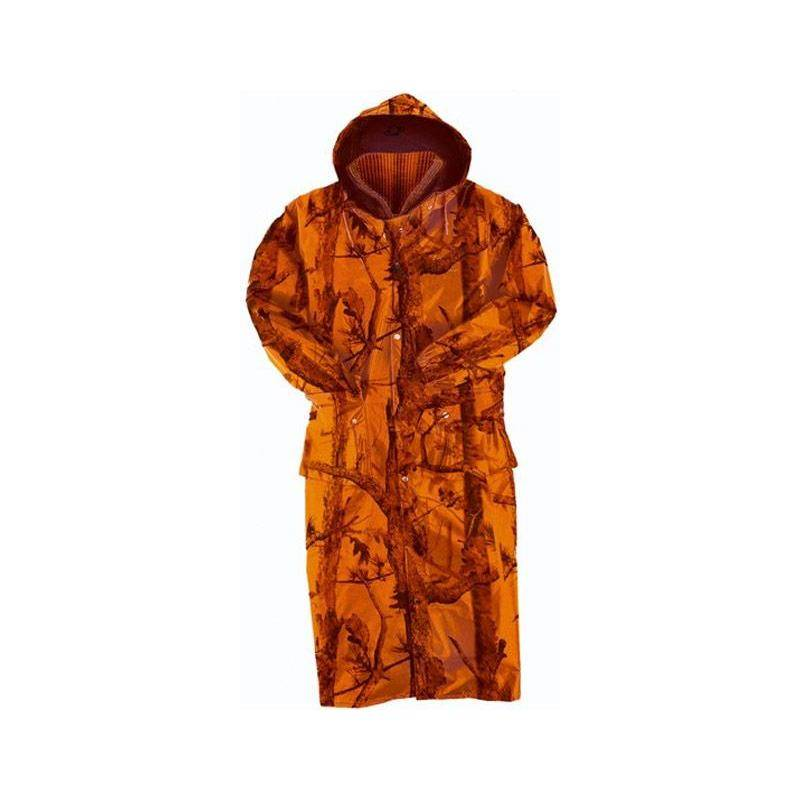 IMPERMEABLE HOMME LIGNE VERNEY-CARRON MILLAU GHOST - CAMOU ORANGE - S