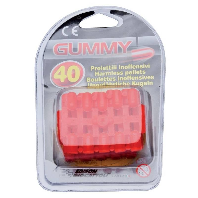 Jeu Enfant Projectiles Januel Gummy - Par 40