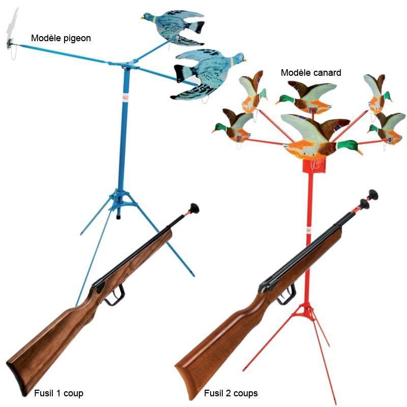 Jeu Pour Enfant Januel Tir Aux Pigeons Ou Canards
