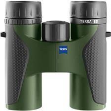 Jumelles 10x32 zeiss terra ed compact t* noir/vert