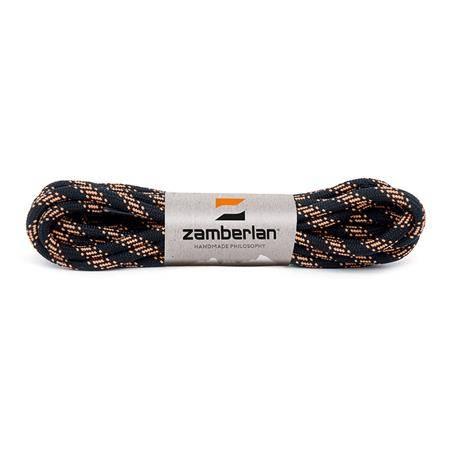 Lacets Zamberlan Round Noir/Orange