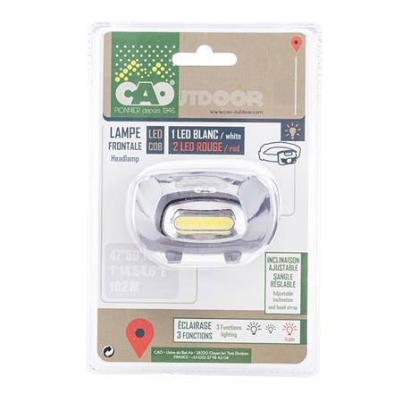 LAMPE FRONTALE EUROP ARM SPECTRE 230 LUMENS - INCLINABLE