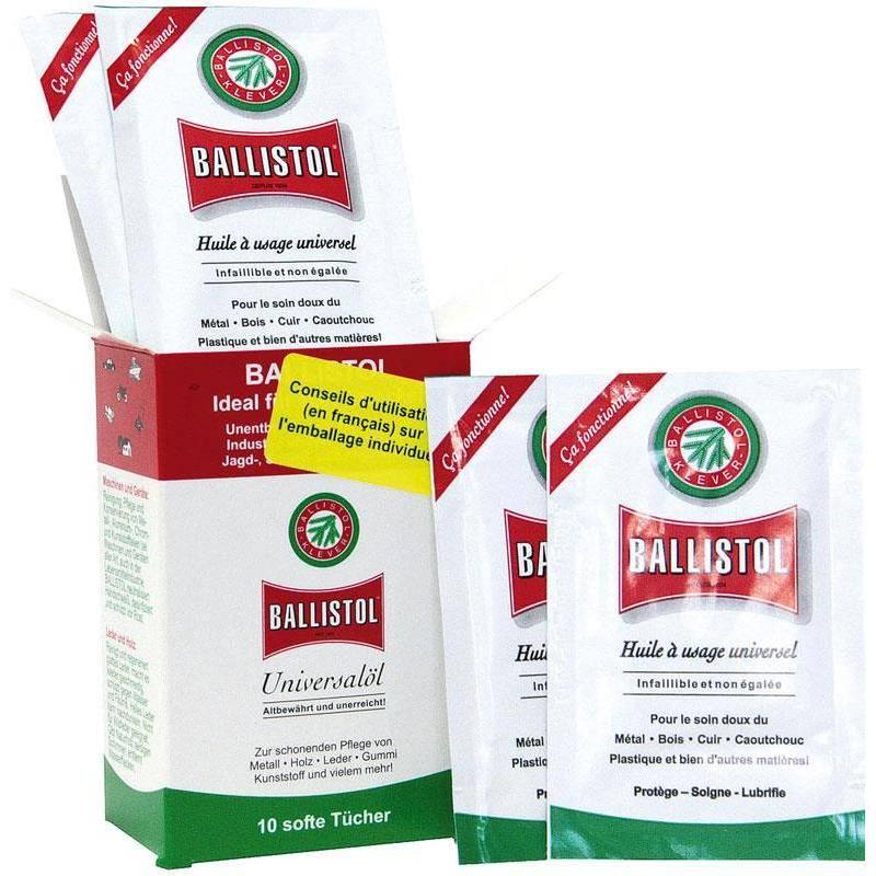 Lingette Ballistol Huile Universelle