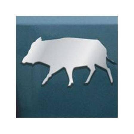 Logo Chrome 3D Roc Import Sanglier