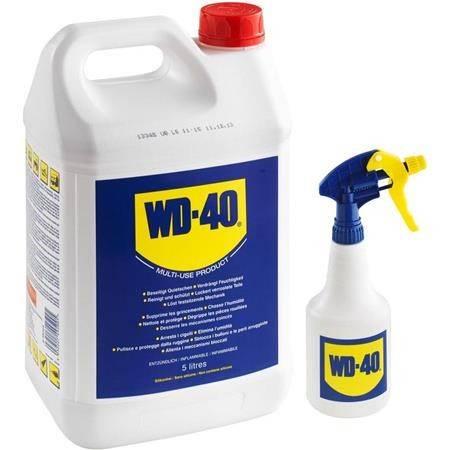 Lubrifiant Multifonction Wd-40 5L + 1 Pulverisateur Vide