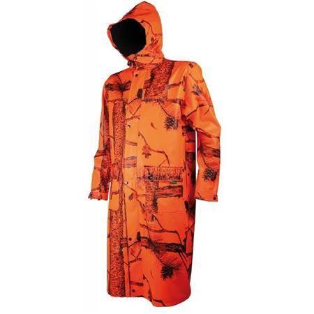 Manteau Homme Treeland T427 - Orange Camo