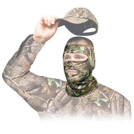 Masque 3/4 Primos Hunting Calls Avec Bouche Stretch Realtree Apg Hd