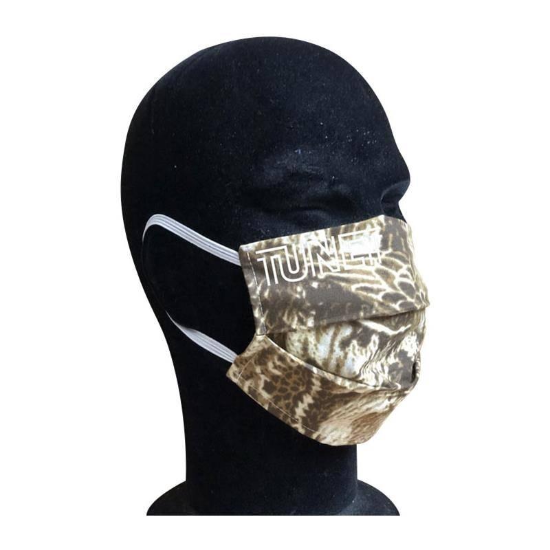 Masque De Protection En Tissu Tunet Norme Afnor - Camo