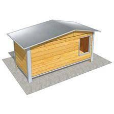 Niche difac isolee confort toit 2 pans