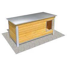 Niche difac isolee confort toit incline