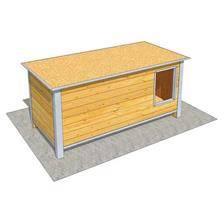 Niche difac isolee confort toit plat