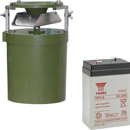 Pack Agrainoir Automatique + Batterie Etanche