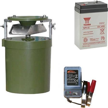 Pack Agrainoir + Batterie + Chargeur Digital Smart Feeder
