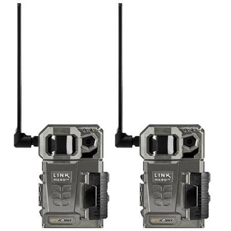 Pack Caméra De Chasse Spypoint Link Micro Lte Twin
