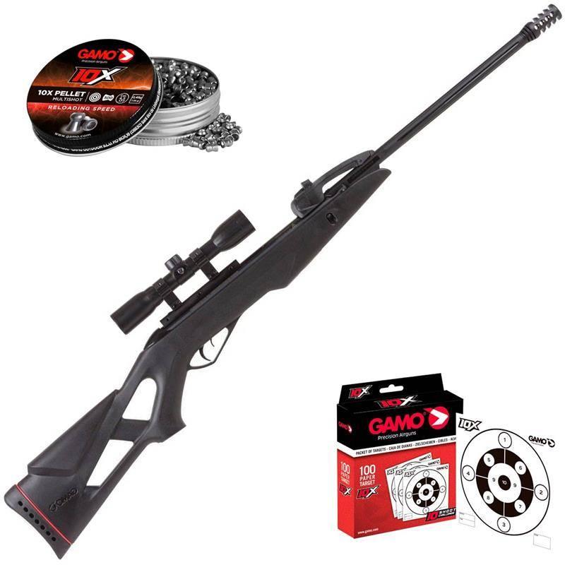 Pack Carabine A Plomb Gamo Pack Noël Swarm Fox