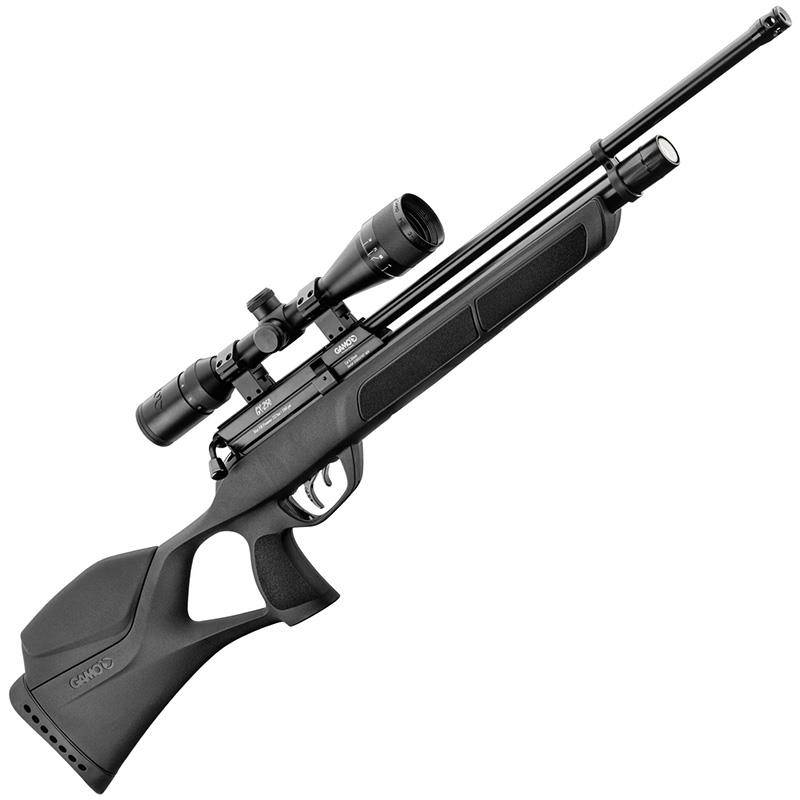 Pack Carabine A Plomb Gamo Pcp Gx 250 + 3-9X40 + Pompe + Plombs