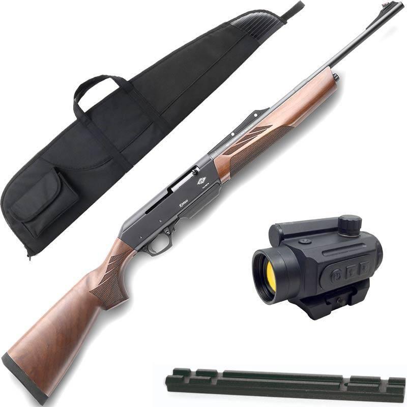 Pack Carabine Semi-Automatique F.Lli Pietta Chronos Bois 30-06