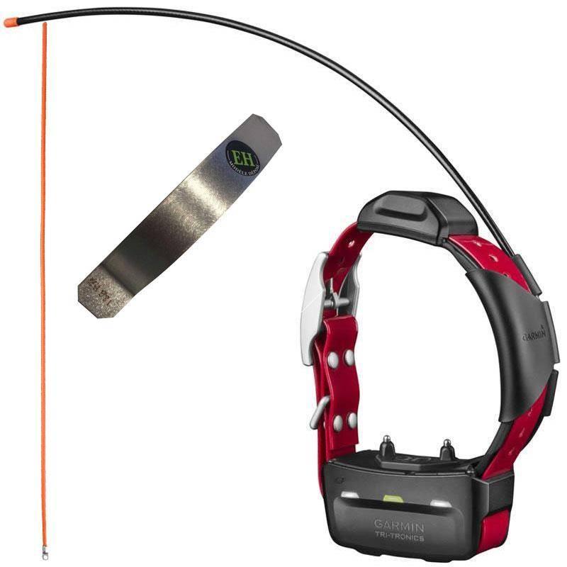 Pack Collier Supplementaire De Dressage Et Reperage Garmin Tt15 + Antenne Supra + Renfort Electrohunt