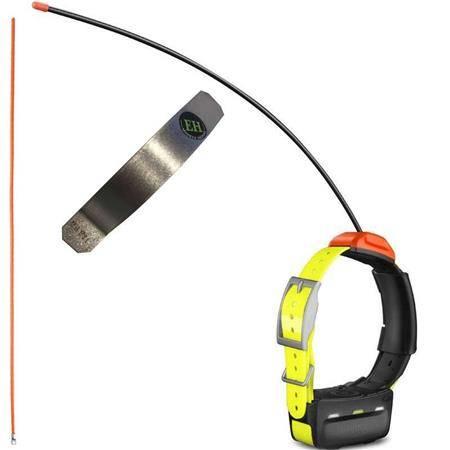 Pack Collier Supplementaire De Reperage Garmin T5 + Antenne Supra + Renfort Electrohunt
