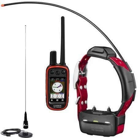 Pack Garmin Reperage & Dressage Telecommande Alpha 100 Et Collier Tt15 + Antenne De Toit Supra Flex Black Edition