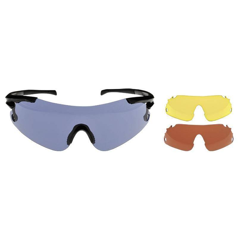 Pack Lunettes De Tir Beretta 3 Lenses Eyeglass Interchangeable