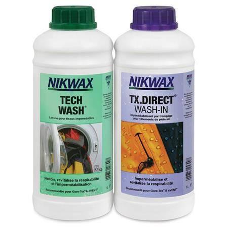 Pack Nettoyage Et Impermeabilisant Nikwax Twin-Pack Pour Goretex - 1L