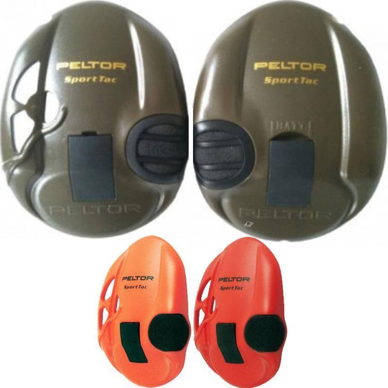 Paire De Coquilles Peltor Sportac Pour Casque Anti-Bruit
