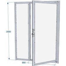 Panneau de chenil cprs difac avec porte