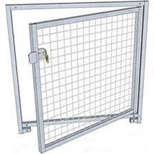 Panneau de chenil grillage difac avec porte pro