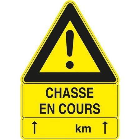 Panneau Signalisation Europ Arm Chasse En Cours