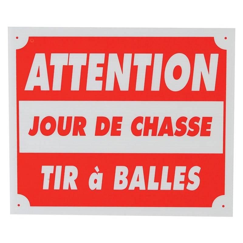 Panneau Signalisation Januel Attention Jour De Chasse Tir A Balles