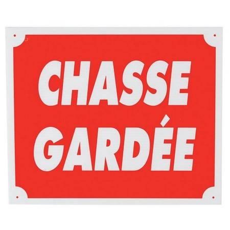 Panneau Signalisation Januel Chasse Gardee